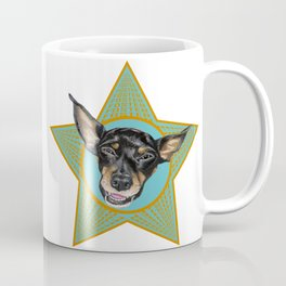 Foster (orange & teal) Coffee Mug