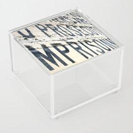 Prosecution and Imprisonment Acrylic Box