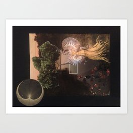 Another city another Love Art Print