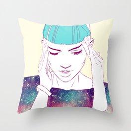 GRIMES Throw Pillow