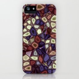 Fractal Gems 01 - Fall Vibrant iPhone Case