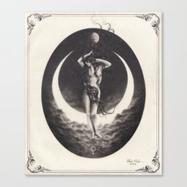 Venus Moon Canvas Print