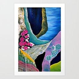 Terrain Exploration Art Print