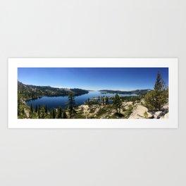 Infinity Lake Art Print