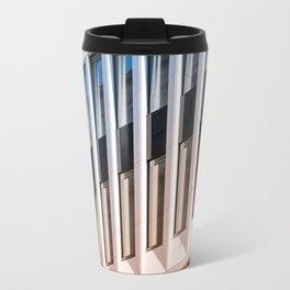 Architectural Pattern / modern building facade Travel Mug