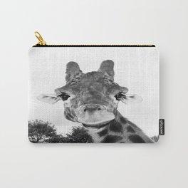 Giraffe. B+W. Carry-All Pouch