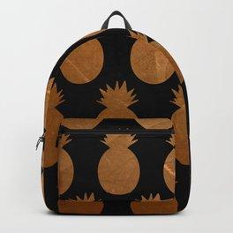 Metallic Pineapples Backpack