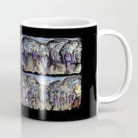 cities Mugs featuring Cities by Kimmo Rantalainen