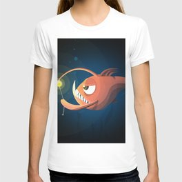 Good Night by Angler Fish T-shirt