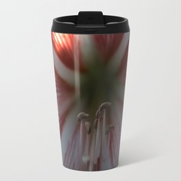 Botanical Gardens Red Orchid #175 Travel Mug