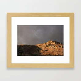 Sun Cliffs Framed Art Print