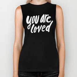 You Are Loved x Navy Biker Tank