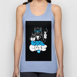 Cool Cats Only Unisex Tank Top