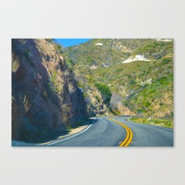 Chicane Canvas Print