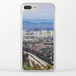 San Diego Lookout Clear iPhone Case