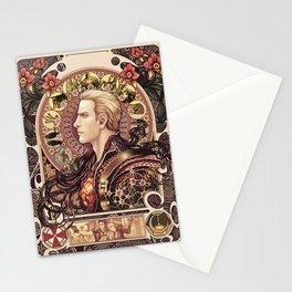 Biohazard Zodiac Stationery Cards