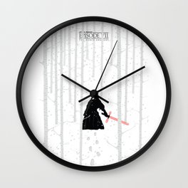 The Force Awakens - Blizzard Wall Clock
