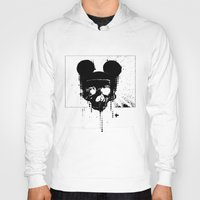 horror Hoodies featuring Horror Mickey by Renars