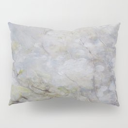 White Blossom Flowers Pillow Sham