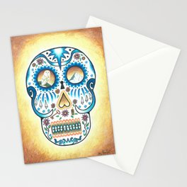 Pacific NW Skull Stationery Cards