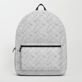 Textured grey, solid grey Backpack