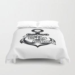 Smooth Seas Duvet Cover