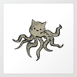 minima - octopuss Art Print