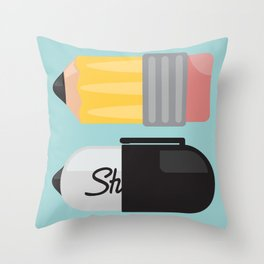 """The Essentials"" Throw Pillow"