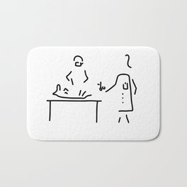 veterinarian veterinary medicine surgeon Bath Mat