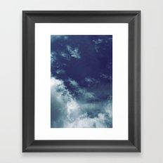 Dreamy Clouds I Framed Art Print