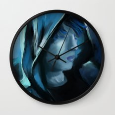 Blue Serenity Wall Clock