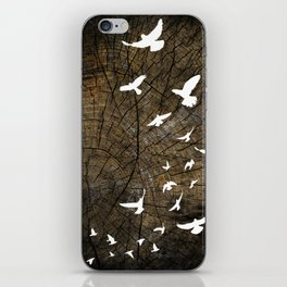 Birds on Wood iPhone Skin