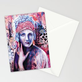 Reine de glace Stationery Cards