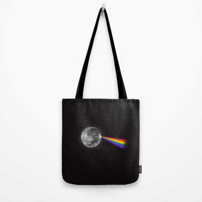 The Dark Side of the Moon Tote Bag