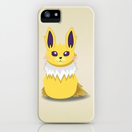 Evolution Bobbles - Jolteon iPhone Case