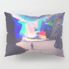 Rainbow Waves Pillow Sham