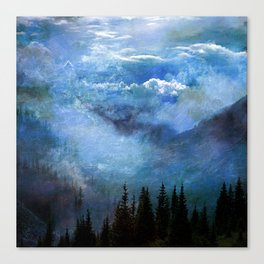 Amazing Nature - Mountains 2 Canvas Print