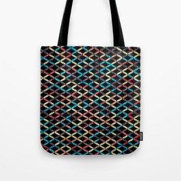 Colorful Geometric Pattern #03 Tote Bag