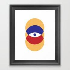 C I R | Eye Framed Art Print