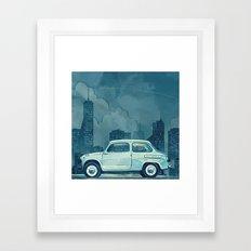 Old zaz Framed Art Print
