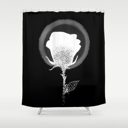 Isaiah 40:8 (Inverted) Shower Curtain
