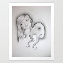 popgirl Art Print