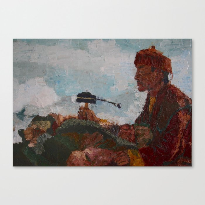 PRAYER FOR A DEAD Canvas Print