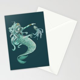 Enchanting Mermaid Stationery Cards