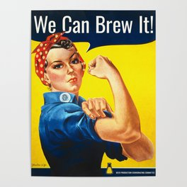 Rosie the Brewer Poster