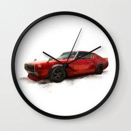 Nissan skyline 70, 1970 Wall Clock