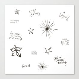 you're doing so well already Canvas Print