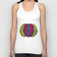 afro Tank Tops featuring Circus Afro! Circus Afro!  by Brieana