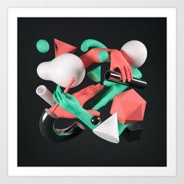 Corporeal / One Art Print