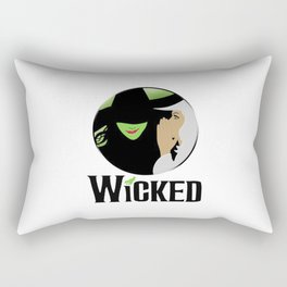 broadway musical wicked Rectangular Pillow